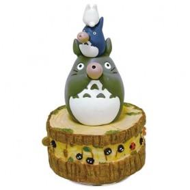 Mon voisin Totoro boite à musique Totoro's Band 21 cm