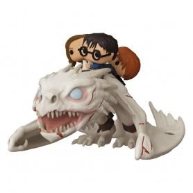 Harry Potter POP! Rides Vinyl figurine Dragon w/Harry, Ron, & Hermione 15 cm