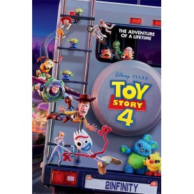 Toy Story 4 pack posters Adventure Of A Lifetime 61 x 91 cm (pack de 5)
