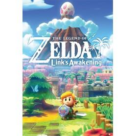 The Legend of Zelda : Link's Awakening pack posters 61 x 91 cm (pack de 5)