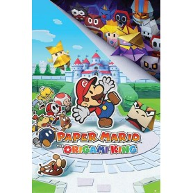 Paper Mario posters The Origami King 61 x 91 cm (pack de 5)