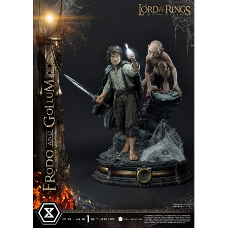 Le Seigneur des Anneaux statuette 1/4 Frodo & Gollum Bonus Version 46 cm