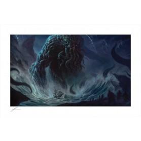 Cthulhu impression Art Print Cthulhu I by Richard Luong 46 x 70 cm - non encadrée