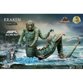 Le Choc des Titans statuette Soft Vinyl Gigantic Ray Harryhausens Kraken Deluxe Ver. 35 cm