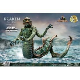 Le Choc des Titans statuette Soft Vinyl Gigantic Ray Harryhausens Kraken 35 cm