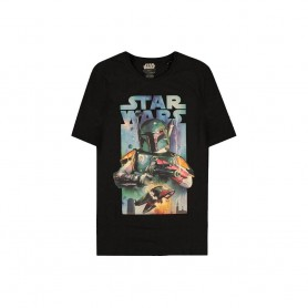Star Wars T-Shirt Boba Fett Poster (XL)